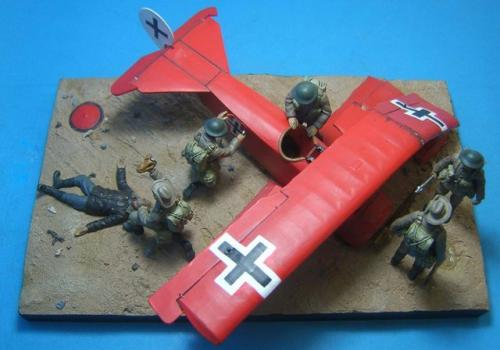 FF.2 - The death of Rittmeister Manfred von Richthofen