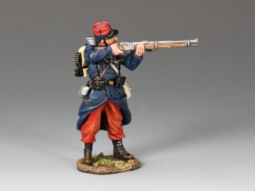 FW078 - French Standing Firing Rifleman