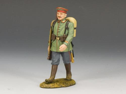 FW109 - German Marching Rifleman with Hat
