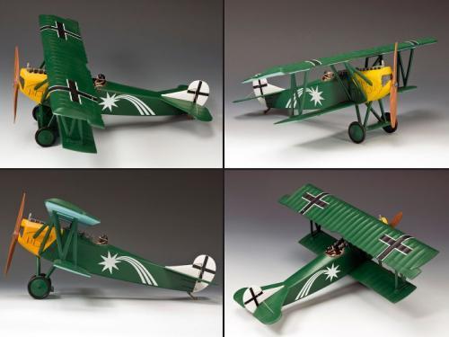 FW113 - Fokker DVII O - Leut. Harald Auffarth Jasta 29 (150 being produced)