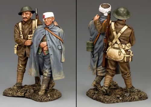 FW166 - Wounded Prisoner and Escort