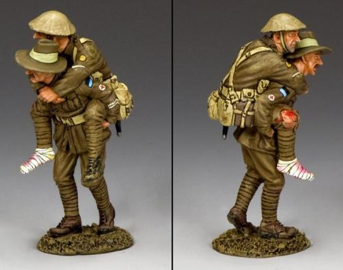 FW184-Q - Hitching a Ride (Queensland) The 9th. Infantry Btn. version