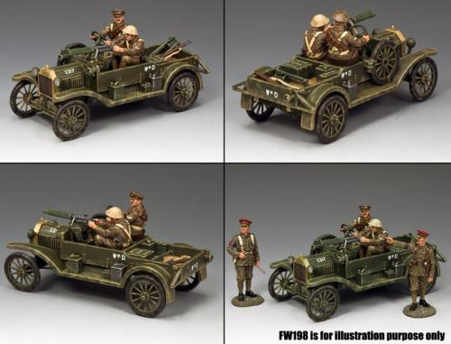 FW188 - Ford Model T Vickers Machine Gun Carrie