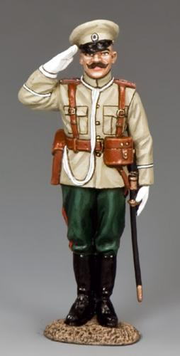 FW204 - Russian Saluting Officer