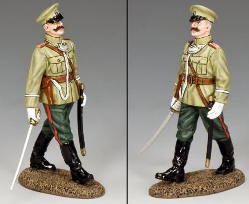 FW209 - WWI Imperial Officer Marching