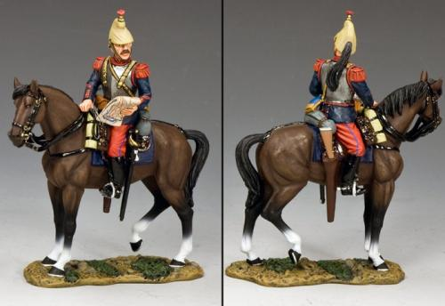 FW221 - French Cuirassier studying Map