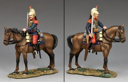 FW222 - French Cuirassier with Sword Drawn