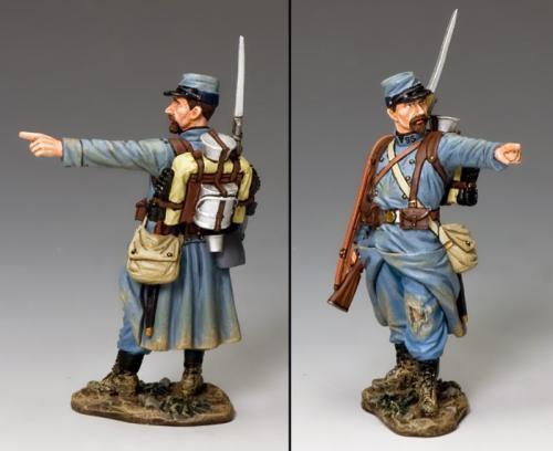 FW224B - French Pointing Poilu (blue uniform), WWI