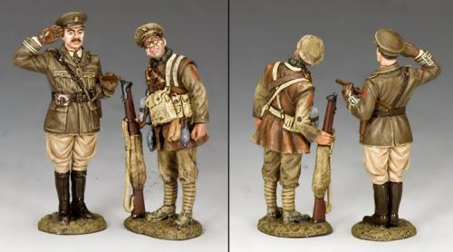 FW226 - Capitaine Edmund Blackadder and Private Baldrick