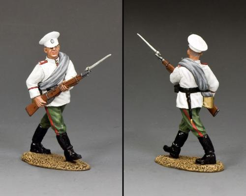 FW234 - Russian Marching with Rifle bayonet