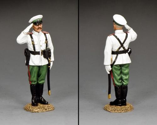 FW235 - Russian Standing Officer Saluting - disponible début septembre