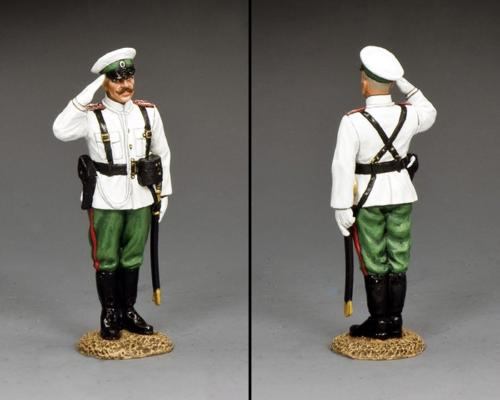 FW235 - Russian Standing Officer Saluting