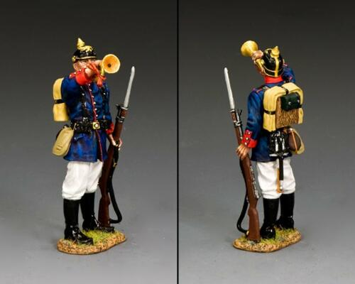 FW247 - Prussian Line Infantry Rifleman with Bugler
