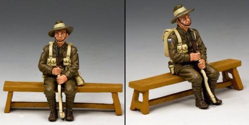 GA009-SA - Sitting Anzac Single (South Australia )