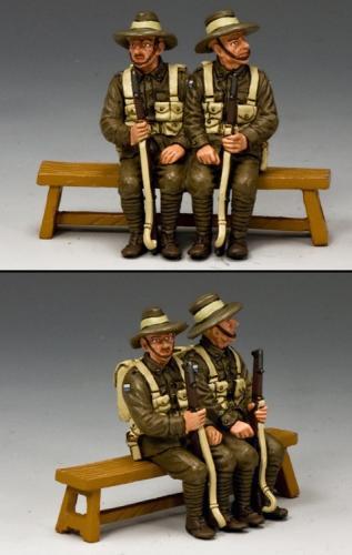 GA010-SA - Sitting Anzac Set 1 (South Australia)
