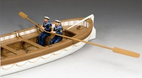 GA015(B) - Oarsmen Rowing