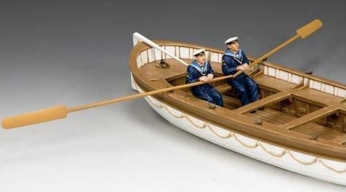 GA015 - Oarsmen Rowing