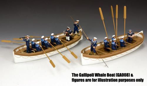 GA015 - Oarsmen Rowing - vue d ensemble