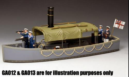 GA017 - Royal Navy Steam Launch - vue d ensemble