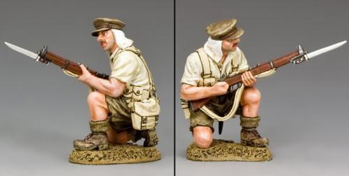 GA028 - Kneeling Loading Rifleman, Gallipoli 1915