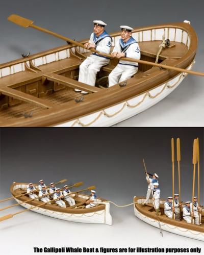 GA030 - Oarsmen Rowing Set A, Gallipoli 1915