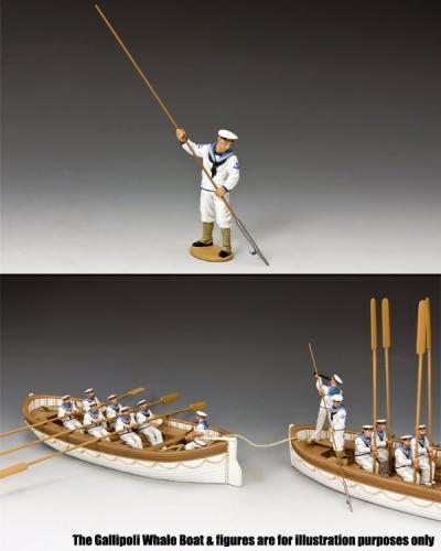 GA033 - Sailor with Boathook, Gallipoli 1915