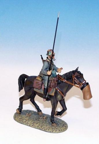 GWW.1 - German Trooper on walking horse 1
