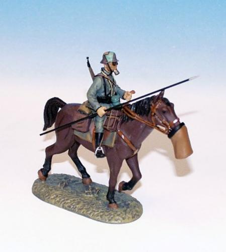 GWW.2 - German Trooper on walking horse 2