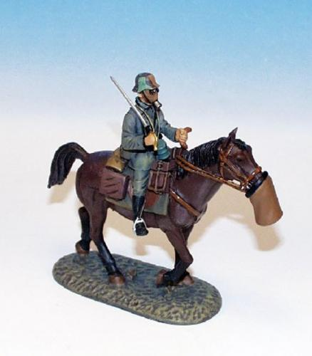 GWW.3 - Greman Officer on walking horse