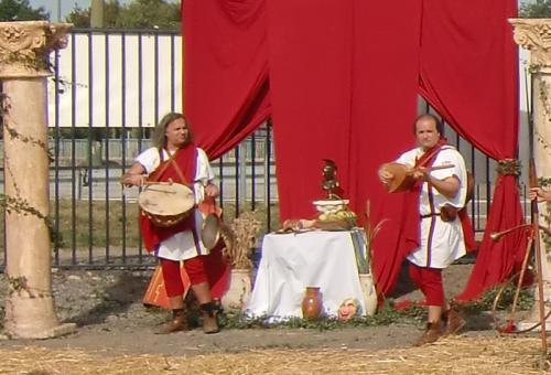 Gouy-lez-Piéton 2014 - Dionisiacorum - musiciens romains