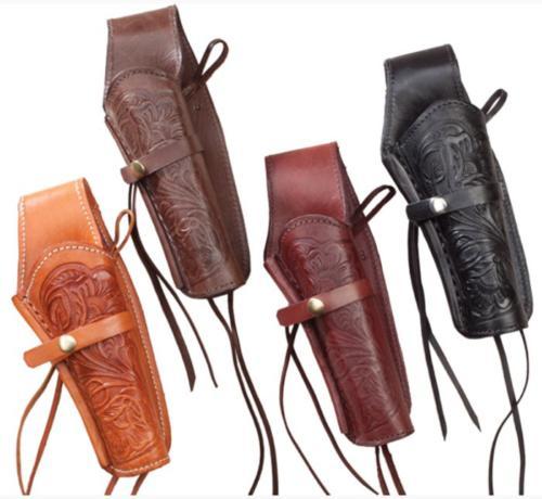 Holster pour Colt 45 : H1-45BLK (holster en cuir noir)  H1-45NAT (holster en cuir couleur naturelle et noire) - EN STOCK
