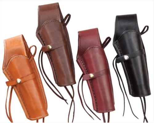 Holster pour Colt 45 : H33-45BLK (holster en cuir noir)  H33-45NAT (holster en cuir naturel et noir) - EN STOCK