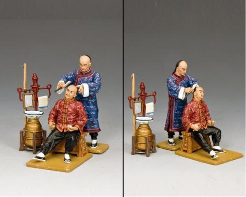 HK157 - Street Barber Shop