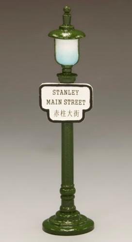 HK198 - Street Sign Lamppost Stanley Main Street