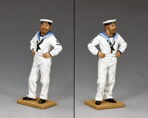 HK255 - Royal Navy Sailor-At-Ease