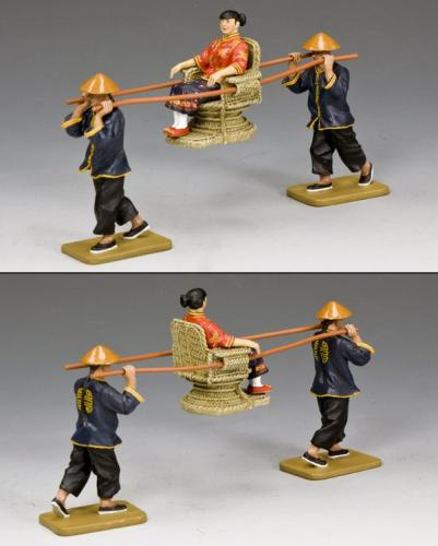 HK263 - The New Sedan-Chair Set