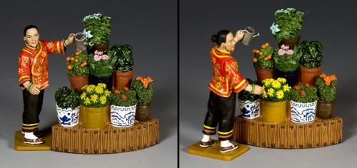 HK279 - The Flower stall set