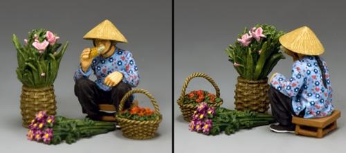 HK281 - The Hakka Flower Seller
