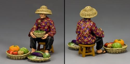 HK282 - The Hakka Vegetable Seller