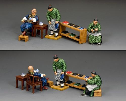 HK291 - The Shoemaker Set (Gloss or Matt) - disponible début mars