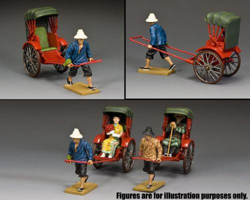 HK294 - The Running Rickshaw (2nd version) disponible en Gloss ou Matt - disponible début janvier