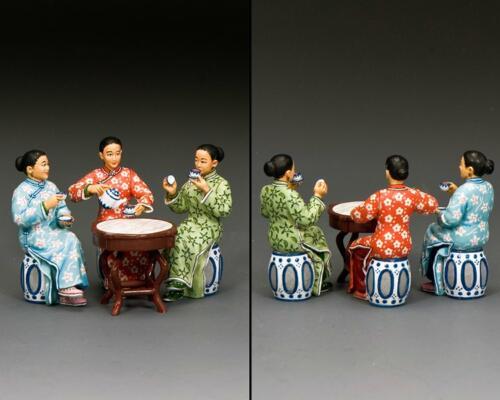 HK295 - The Chinese Ladies Tea Set (Gloss - Matt)