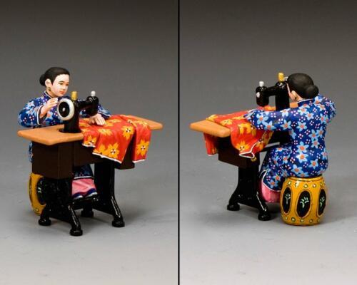 HK296G-M - The Chinese Sewing Lady (Gloss - Matt)