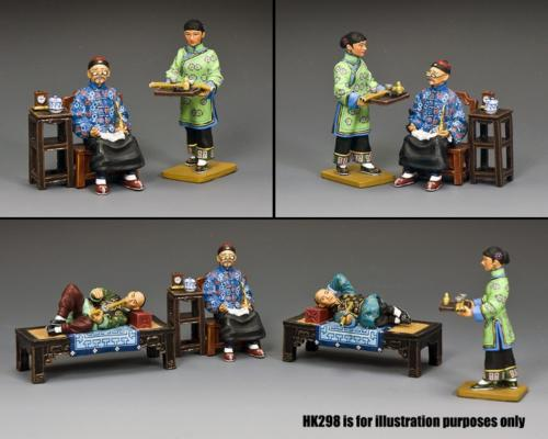 HK299 - The Opium Merchant Maid (Gloss - Matt)