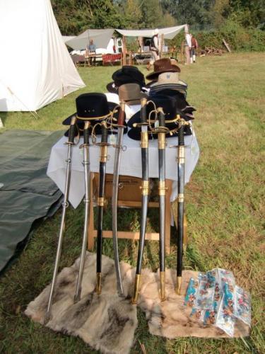Havré 2017 - Le Royaume du Soldat et ses sabres confédérés et unionistes