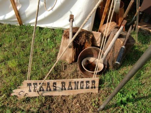 Havré 2017 - campement N°10 TEXAS RANGERS