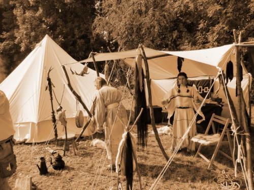 Havré 2017 - campement indien N°22