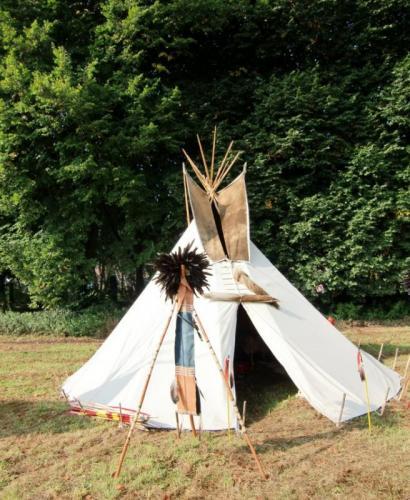 Havré 2017 - campement indien N°30
