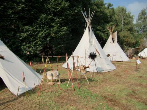 Havré 2017 - campement indien N°31