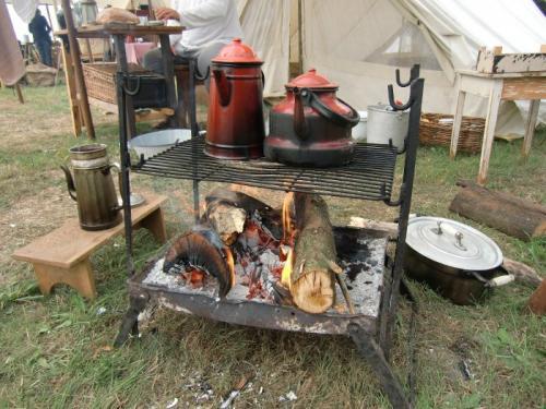 Havré 2019 - Camp ... black coffee on fire